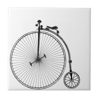 Antique Bicycle Tile