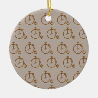 Antique Bicycles Christmas Tree Ornaments