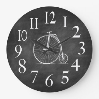 Antique Bike Clock