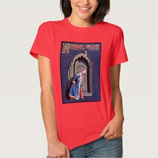 Antique Binding Design Arabian Nights Book Cover Tshirts