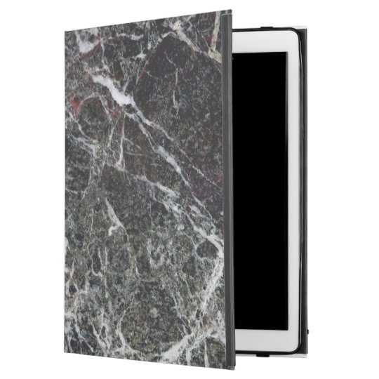 Antique Black And Light Grey Marble Texture iPad