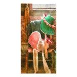 Antique - Bonnets Photo Card