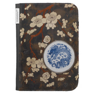 Antique Book of Illustrations of Chinese Porcelain Kindle Keyboard Covers