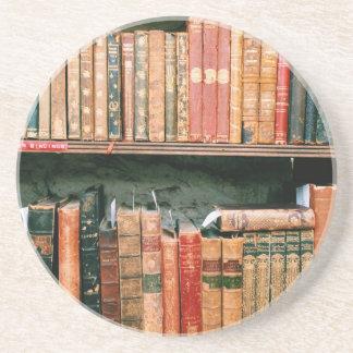 Antique Books Coasters