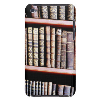 Antique Books on Shelves Barely There iPod Cases