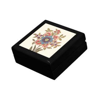 Antique Bouquet Trinket Boxes