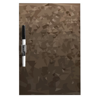 Antique Brass Camo Abstract Low Polygon Background Dry-Erase Whiteboards
