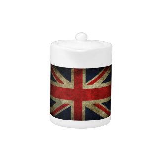 Antique British Union Jack Flag UK