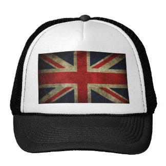 Antique British Union Jack Flag UK Cap
