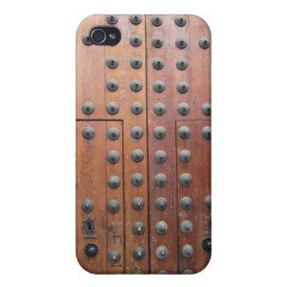 Antique Bronze Door iphone 4 case