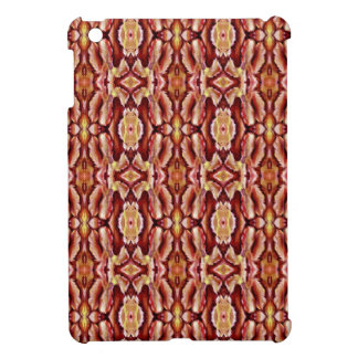 Antique Brown Sepia Lace Pattern iPad Mini Case