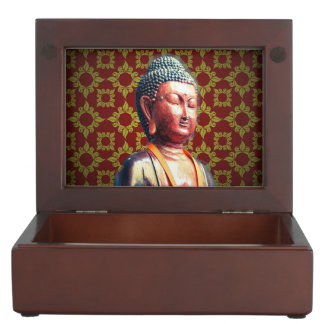 Antique Buddha Keepsake Box