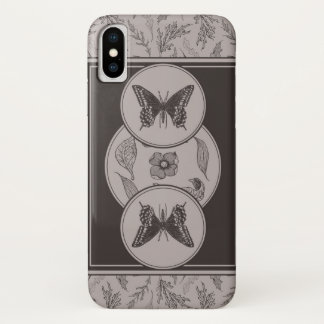 Antique Butterfly iPhone X Case