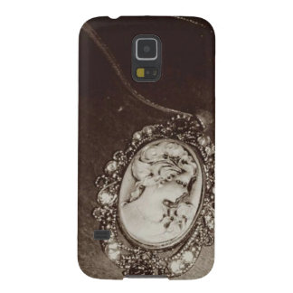 Antique Cameo Galaxy S5 Covers