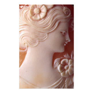 Antique Cameo Stationery