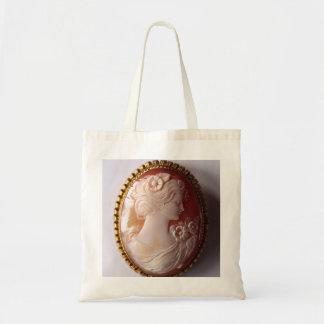 Antique Cameo Tote Bag