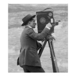 Antique Camera Man, 1918 Posters