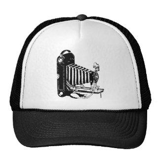 Antique Camera Old World Vintage Trucker Hats