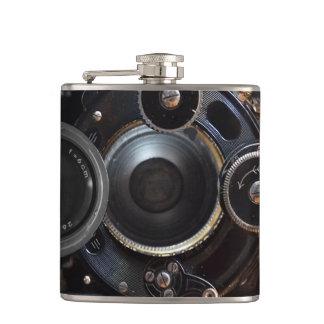 Antique Camera Vintage Photography Old Film Hip Flask