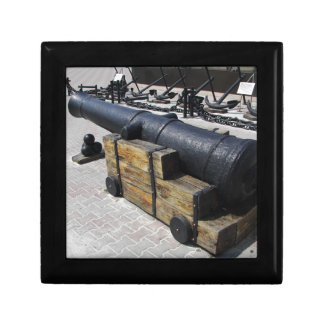 Antique Cannon Gift Box