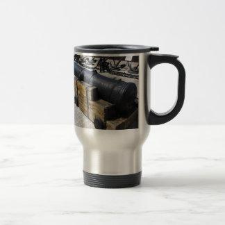 Antique Cannon Travel Mug