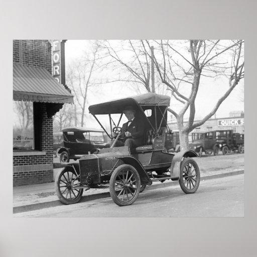 Antique Car, 1925 Poster
