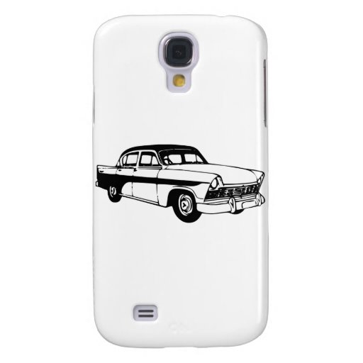 Antique Car Galaxy S4 Covers