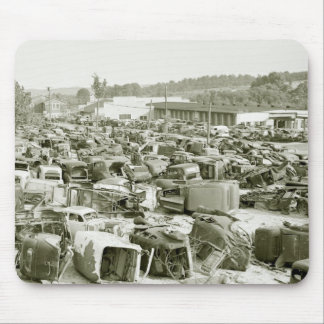 Antique Car Collector's Dream, 1940s Mouse Pad