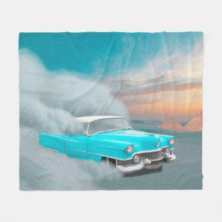 Antique Car Fleece Blanket