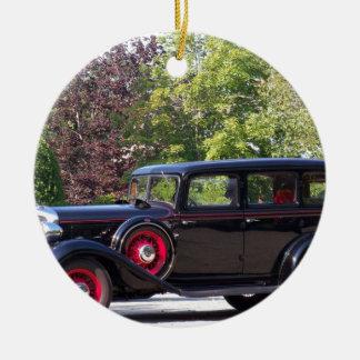 antique-car.jpg round ceramic decoration