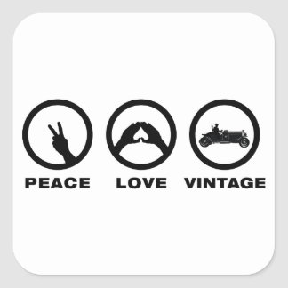 Antique Car Lover Stickers