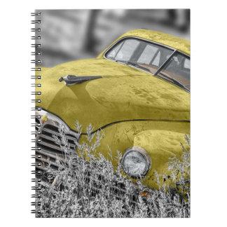Antique Car Notebooks