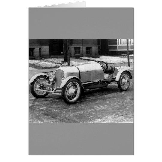 Antique CAR Photo Card