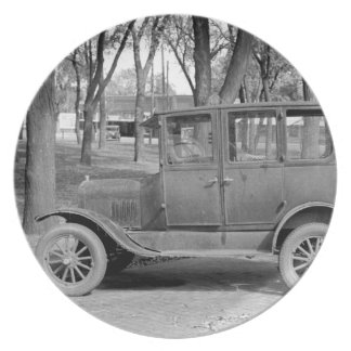Antique Car Plate