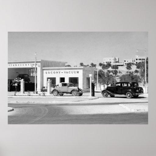 Antique Car Repair: 1938 Poster