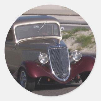 Antique Car Stickers