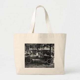 Antique Car Wreck: 1922 Jumbo Tote Bag