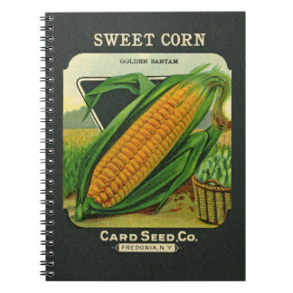 Antique Card Seed Co Packet Blank Notebook