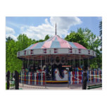 Antique Carousel Post Cards