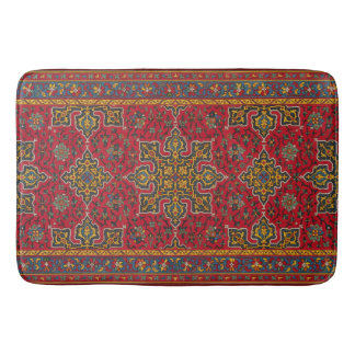 Antique Carpet Bath Mat