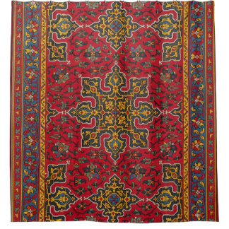 Antique Carpet Shower Curtain