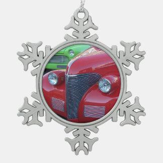 Antique Cars Christmas Ornament