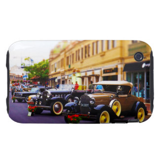 Antique Cars on Display at Country Club Plaza KC Tough iPhone 3 Case