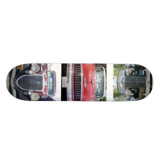 antique cars skate board deck