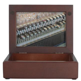 Antique Cash Register Keepsake Boxes