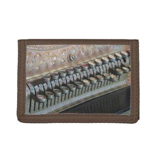 Antique Cash Register Trifold Wallet