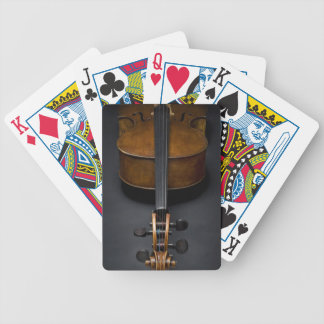 Antique Cello Bicycle Playing Cards