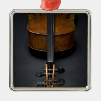Antique Cello Christmas Ornaments