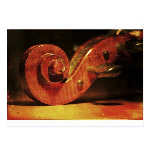 Antique cello postcards