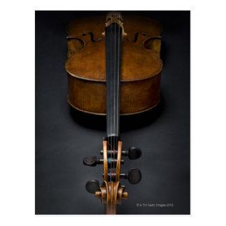 Antique Cello Postcard